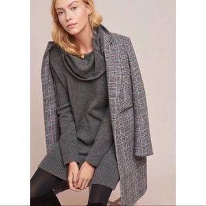 NWT Anthropologie wool turtleneck sweater dress